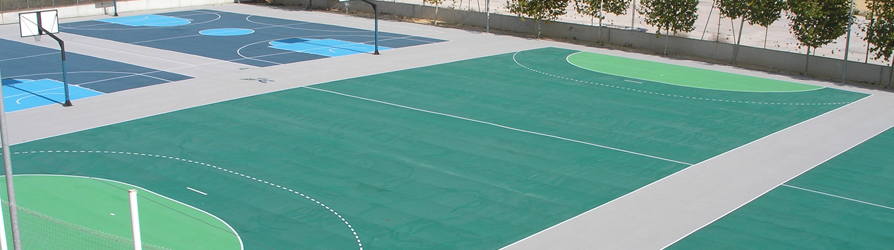 Colegio Europa, Alicante, Spain - Decoflex D10 Outdoor Sports Flooring