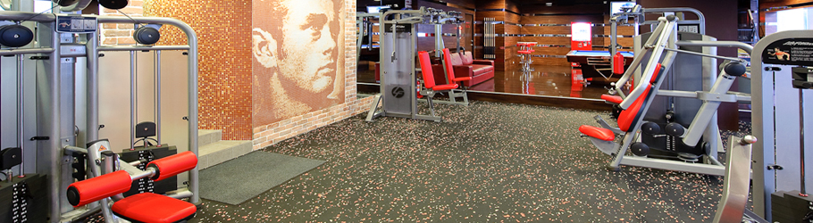 Fitness Factory Gym, Taiwan - Neoflex 500 BFC Series Flooring