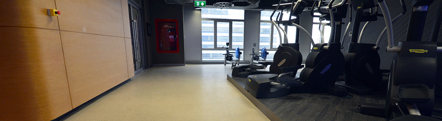 Virgin Active Empire Tower Fitness Center, Bangkok, Thailand - Neoflex™ Natural Fitness Flooring