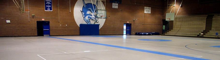 Dreyer High School, Columbia SC, USA - Decoflex™ Universal Indoor Sports Flooring