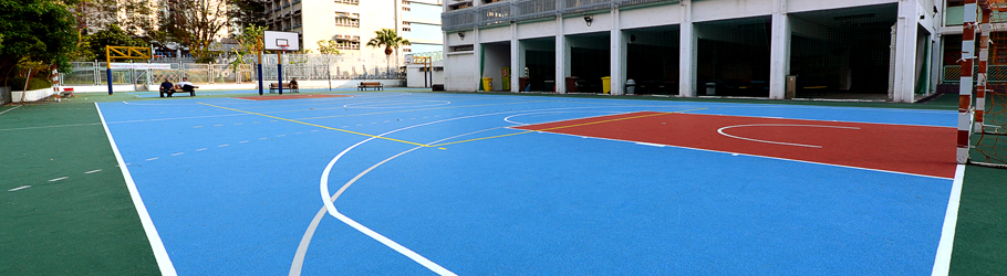 Tsang Pik Shan School, Hong Kong, China - Decoflex D Outdoor Sports Flooring