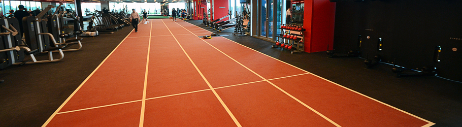 Pure Fitness Fitness Club, Singapore - Decoflex™ D14 Sprint Track