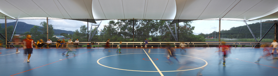 Redlynch Futsal Centre, Redlynch, Queensland, Australia - Decoflex™ Universal Indoor Sports Flooring