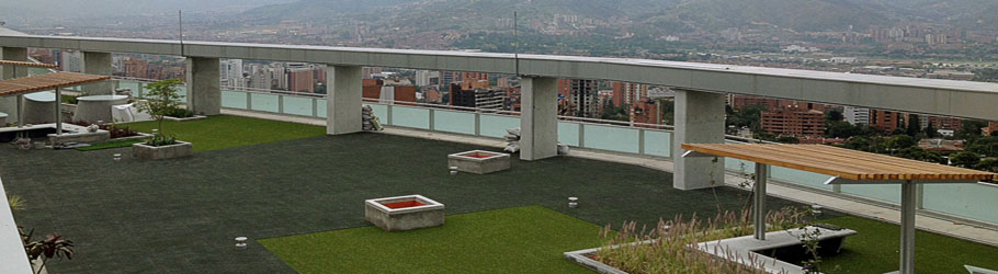 ISAGEN Building, Medellin, Colombia - Versatile™ ZXT Rubber Interlocking Tiles