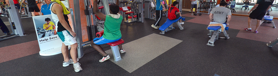 Club Fit, Singapore - Neoflex™ 700 Series Rubber Flooring