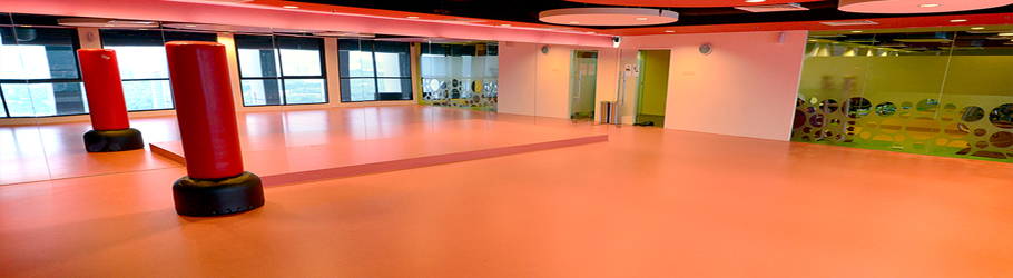 Menara Maybank Recreation Centre, KL, Malaysia - Decoflex™ Universal Sports Flooring for Aerobics Room