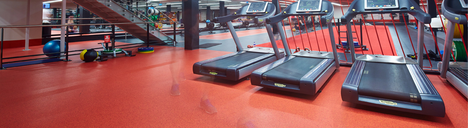 Fitness First Bond Street, Sydney, Australia - Neoflex™ Flooring 600 Series Fitness Flooring
