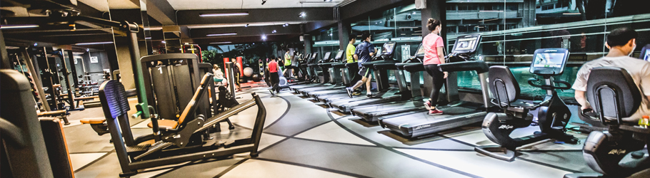 Energy Fitness, Surin Province, Thailand - Neoflex™ 800 Series REPtile Fitness Flooring with Graphics