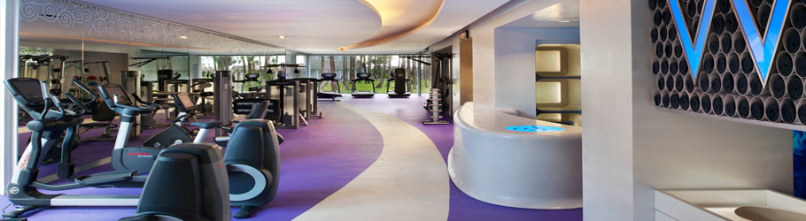 W Hotel Bali, Indonesia - Neoflex™ 800 Series Fitness Flooring with Graphics