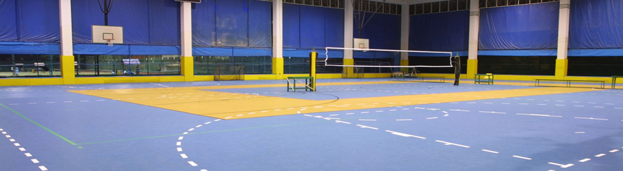 International School of Bangkok, Thailand - Decoflex™ D8 Sports Flooring