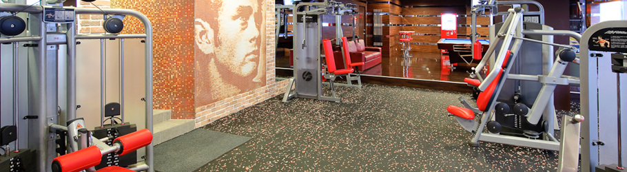 Fitness Factory, Taiwan, ROC - Neoflex™ 500 Series BFC Rubber Fitness Flooring