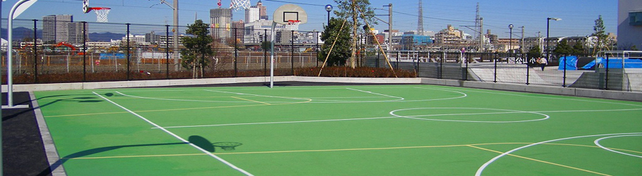Public Courts, Sagamihara, Japan - Decoflex™ D8 Sports Flooring