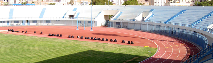 Al Salmiya Athletic Club, Kuwait - Decoflex™ SW14 Athletic Flooring