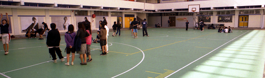 Vocational Training School, Hong Kong, China - Decoflex™ D8 Sports Flooring