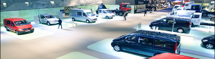 Mercedes Benz Motors, RAI Exhibition, Amsterdam, The Netherlands - Neoflex™ Flooring 600 Series