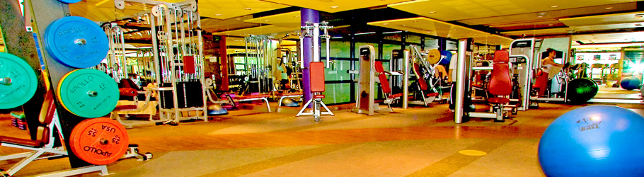 Aviation Club Gym, Dubai, UAE - Neoflex Flooring 600/700 Series