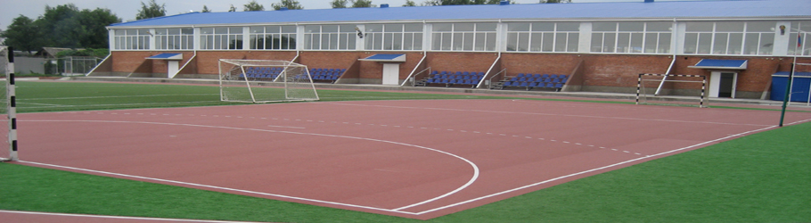 Sports Centre Fakel, Krasnodar Region, Russia - Decoflex D8 Sports Flooring